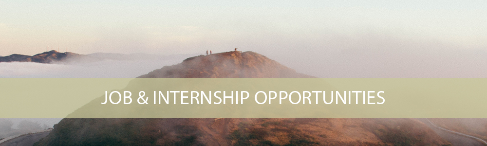 Job & Internship Opportunities
